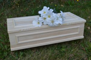 Pre term baby and infant coffin caskets