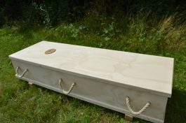 Coffin Outside